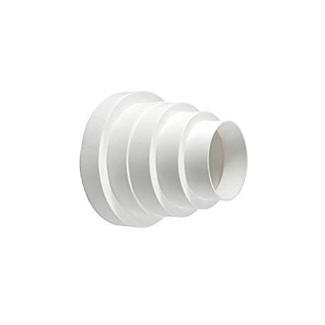 Acople Reducción Plástico Multiple 150-125-120-100-80mm.