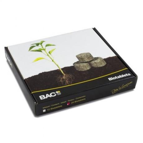 BAC Biotablets 24 unidades