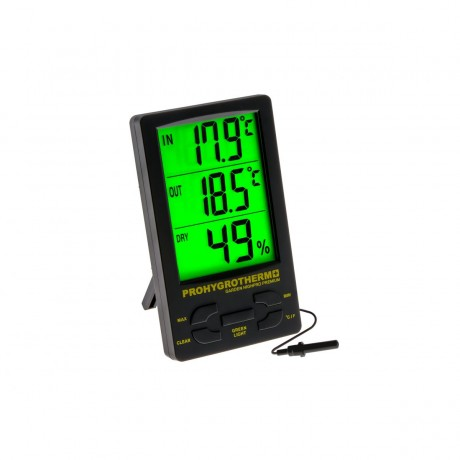 Termohigrómetro Digital Garden Highpro Pro (Componentes Alta Calidad)