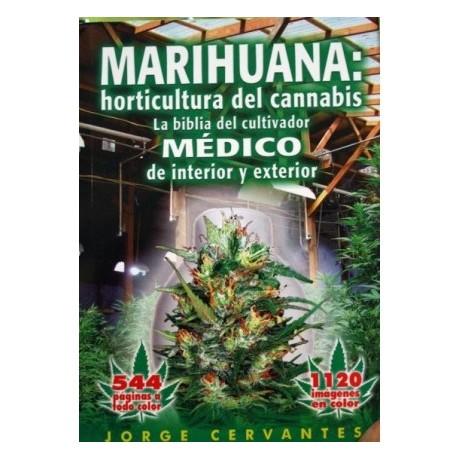 """Libro La Biblia """"Marihuana Horticultura"""" J. Cervantes (Inglés)"""