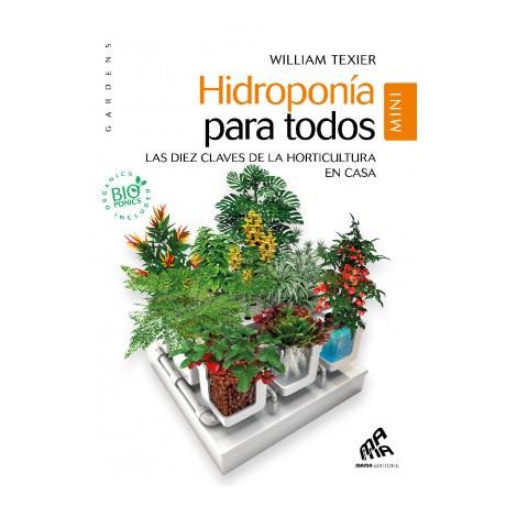 """Libro Hidroponia para Todos """"Mini"""""""