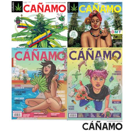Números Antiguos de la Revista Cáñamo
