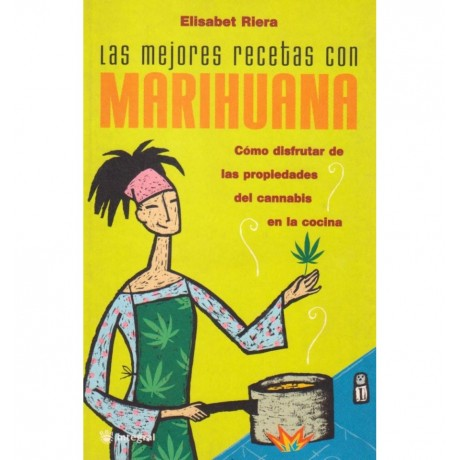 Libro Las Mejores Recetas con Marihuana