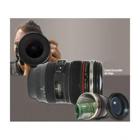 Objetivo Cámara Fotográfica Hueco Ocultación