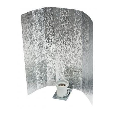 Reflector Aluminio Stuco Brillo