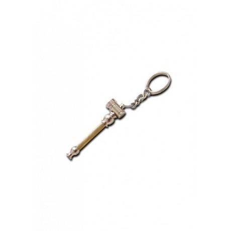 Mini Pipa Metal con Llavero
