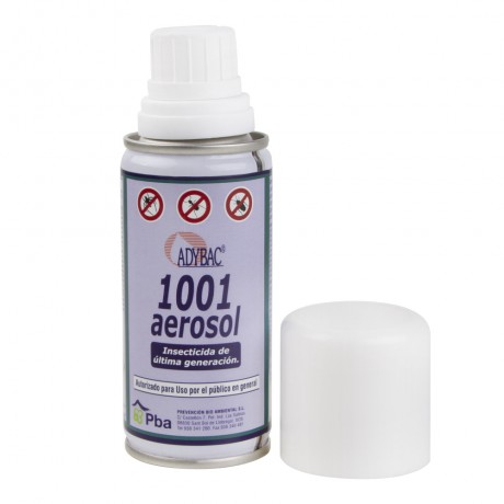 Adybac 1001 Aerosol Insecticida Descarga Total 100 ml.