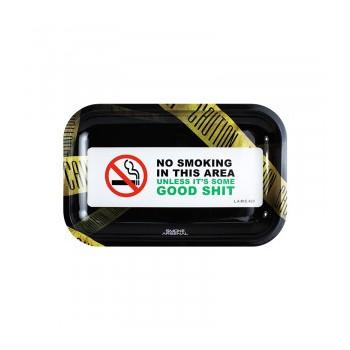 Bandeja Metal No Smoking...