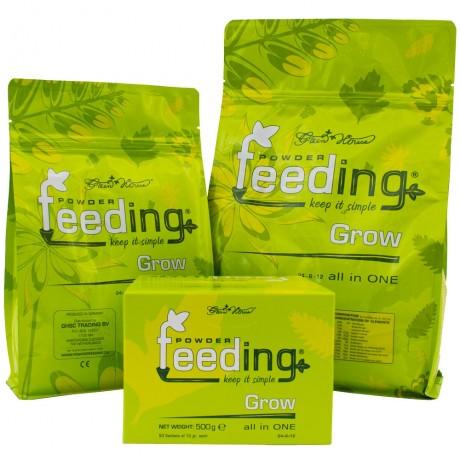 Greenhouse Powder Feeding Grow