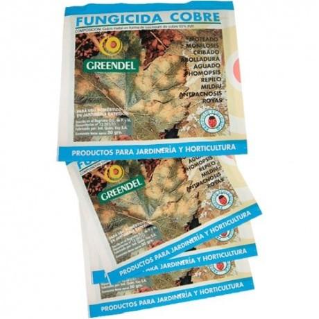 Greendel Fungicida Cobre Polvo (30 gr.)