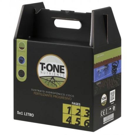T-One Box Fases 1 a 6 (5 x 1 Litro)