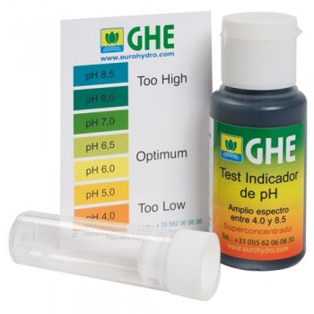 GHE PH Test Kit 30 ml.