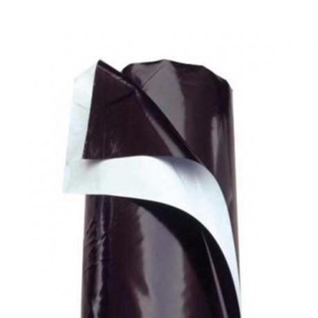 Plástico Reflectante Blanco/Negro 125 Micras
