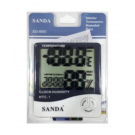 Termohigrómetro Digital Sanda