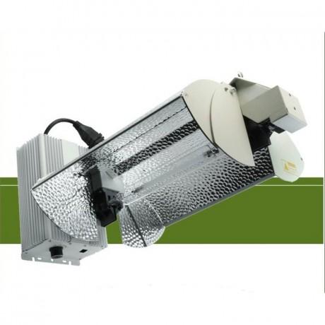 Luminaria Proton + Lámpara Green Power Plus 1000w.