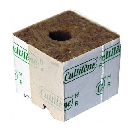 Lana de Roca Taco de siembra 7,5x7,5x6,5 Unidad
