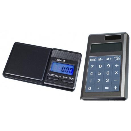 On Balance Bascula DXC-350+Calculadora (0.1gr/350gr)