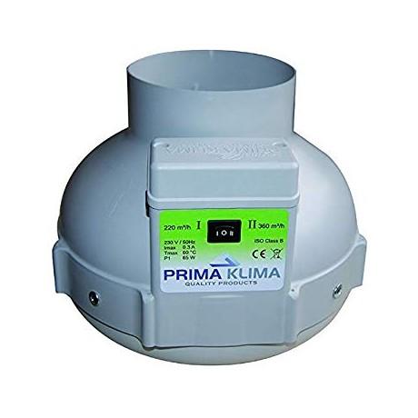 Prima Klima Extractor PK 125 (2 Vel. 220-360m3/h)